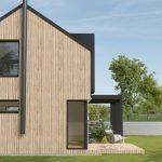 nízkoenergetický rodinný dom Turňa Greenstudio