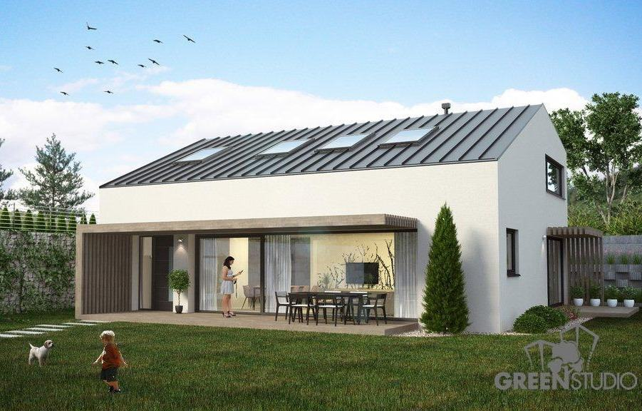 pasívny dom projekt Greenstudio