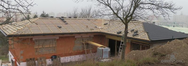 stavba domu Greenstudio