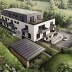 nízkoenergetický bytový dom v Bratislava