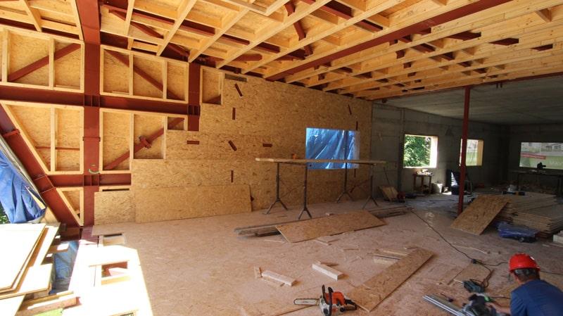 konštrukcia domu ocelovodrevená