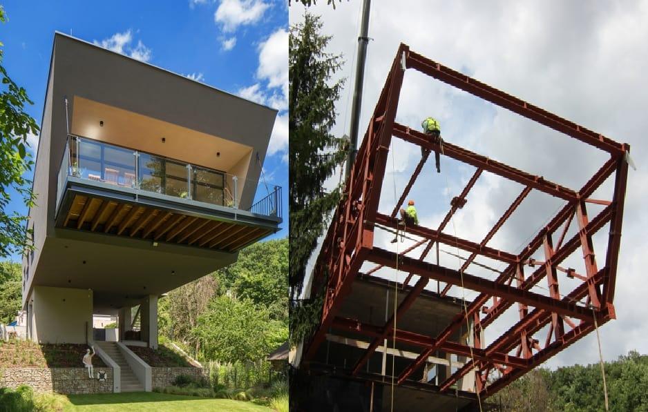konštrukcia domu