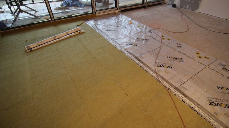 podlaha montáž