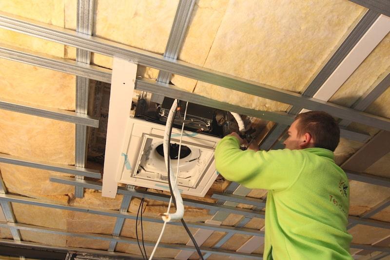 klimatizácia montáž