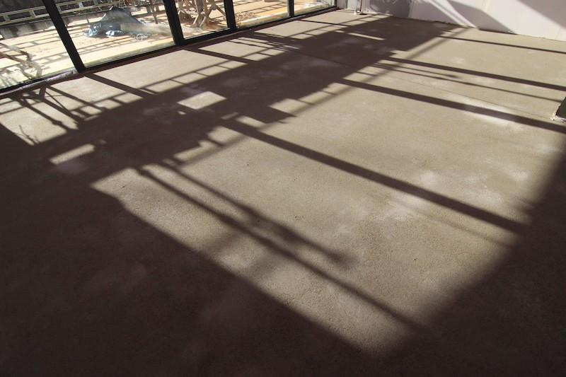 podlaha - betonový poter