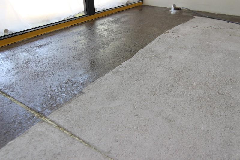 penetrácia  betónového poteru