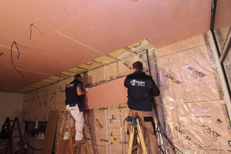 sadrokartón montáž stropu