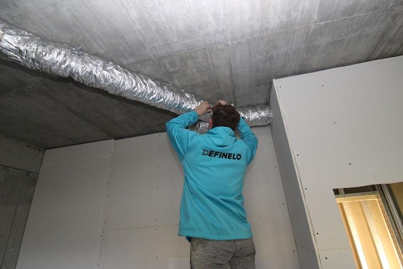 vzduchotechnika - tepelná izolácia