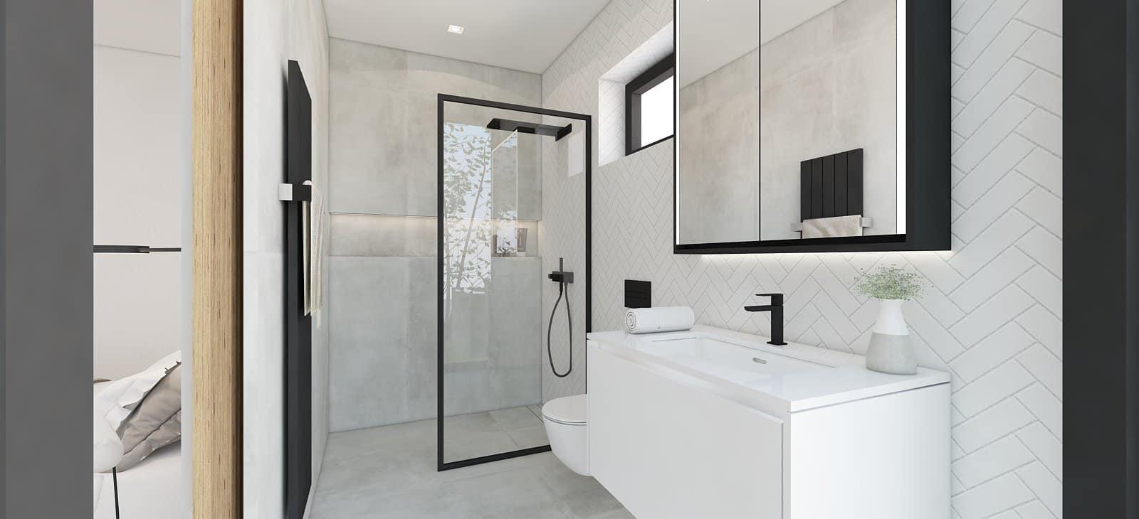 kúpelňa interiér