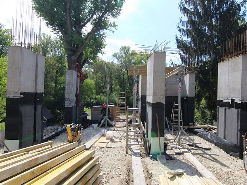 realizácie stavieb