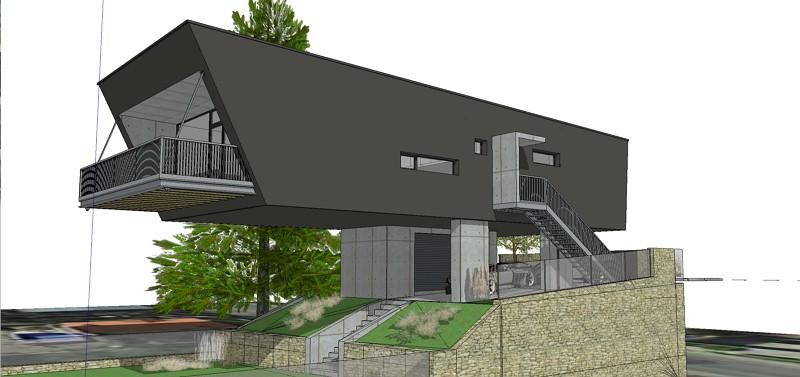 projekty domov architekt