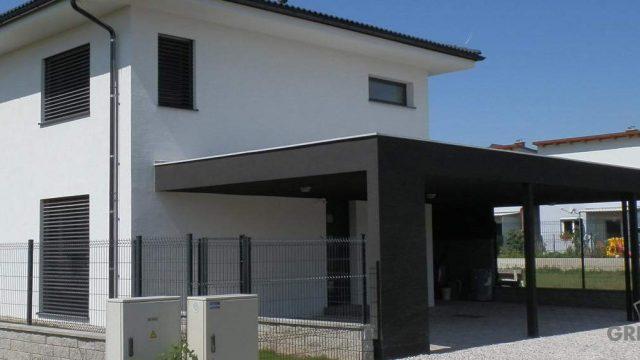 Projekt domu pre stavebné povolenie v Rakúsku