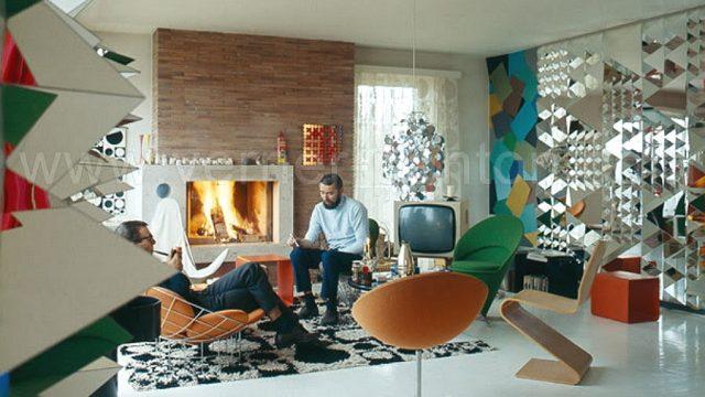Interiérový dizajn 60. rokov je stále IN