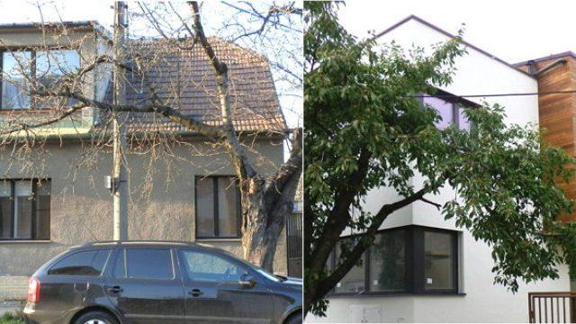 Prestavba starého rodinného domu na nízkoenergetický dom
