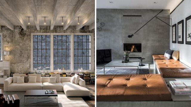 Krása drsného betónu v interiéri – pohľadový betón