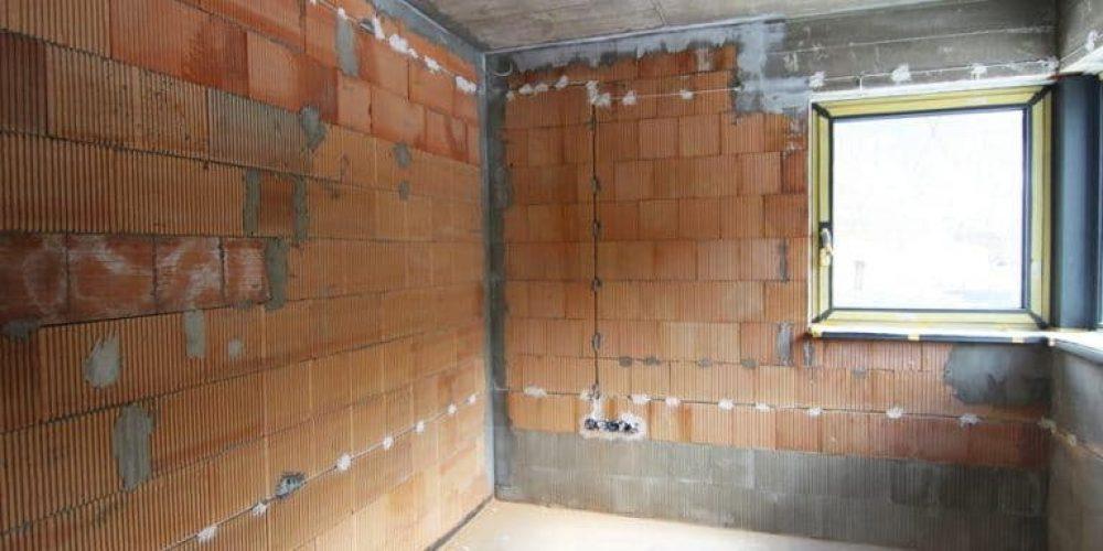 Stavba rodinného domu – práce v interiéri