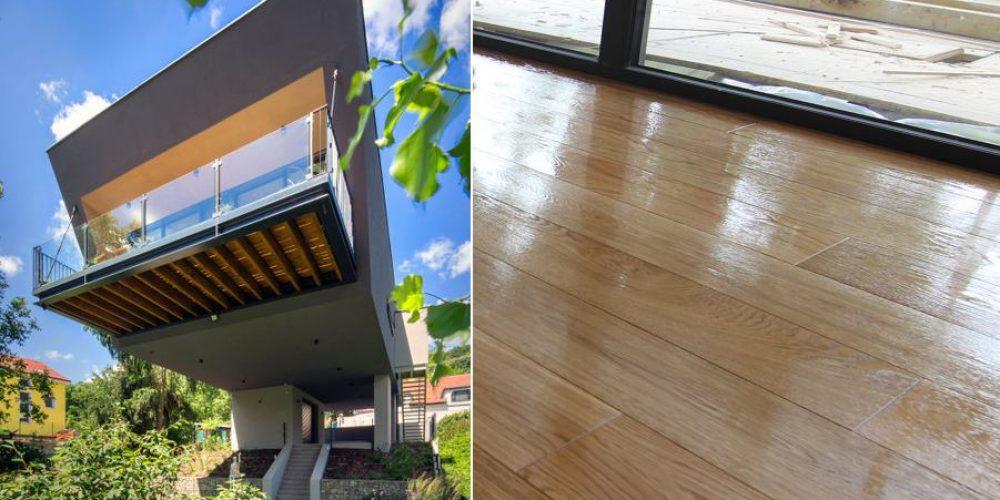 Lietajúci dom 10: Podlaha