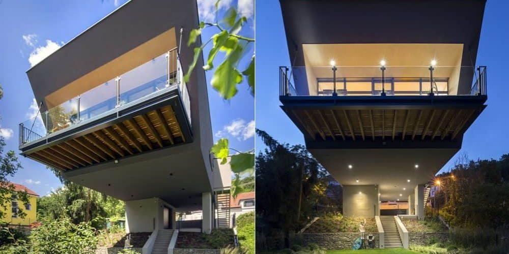 Dom vo svahu alebo Lietajúci dom – úvod