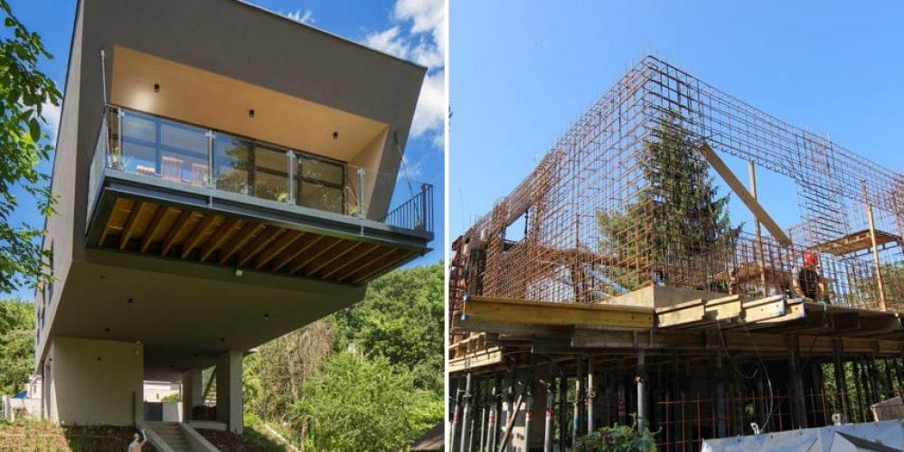 Lietajúci dom 2: monolitické konštrukcie