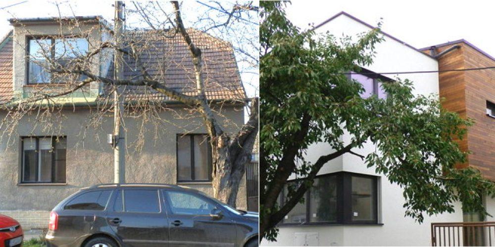 Prestavba domu zo starého rodinného na nízkoenergetický